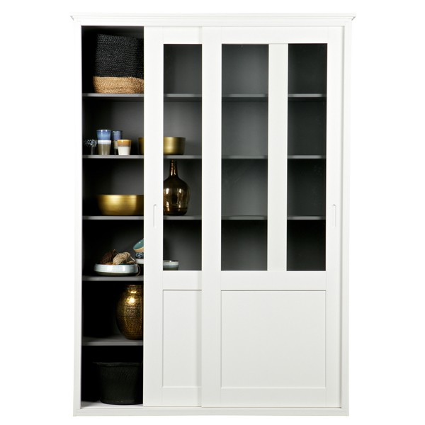 schiebet renschrank vince wei vitrine holzschrank aufbewahrungsschrank schrank new maison. Black Bedroom Furniture Sets. Home Design Ideas