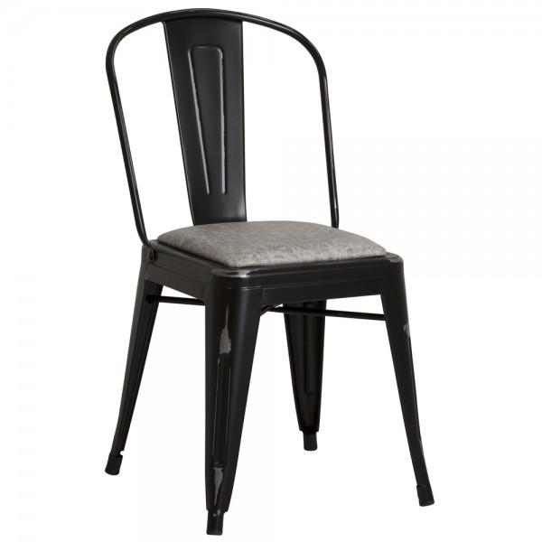 Vintage Stapelstuhl REVIVAL Metall Küche Stuhl Konferenzstuhl Esszimmerstuhl